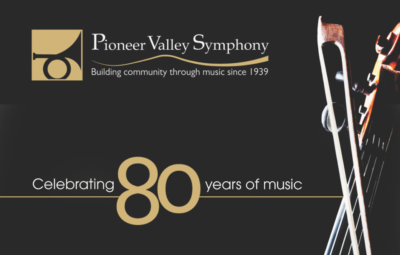 Pioneer Valley Symphony, Celebrating 80 years of music.