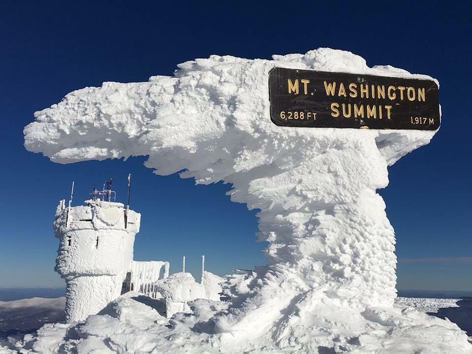 img of ice formations on mount washington summit